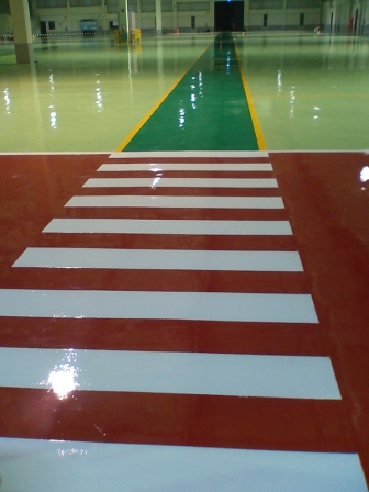Epoxy Floor Coating Result